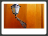 Corner Lamp Venice, Oil, 20 x 16 inches, 2010